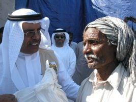 UAE Envoy visits flood affected areas of Sindh