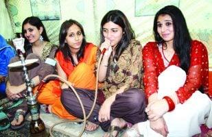LAHORE: Sheesha smoking still popular among youth