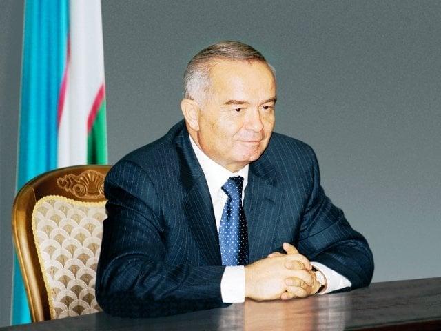 President of Uzbekistan Islam Karimov1