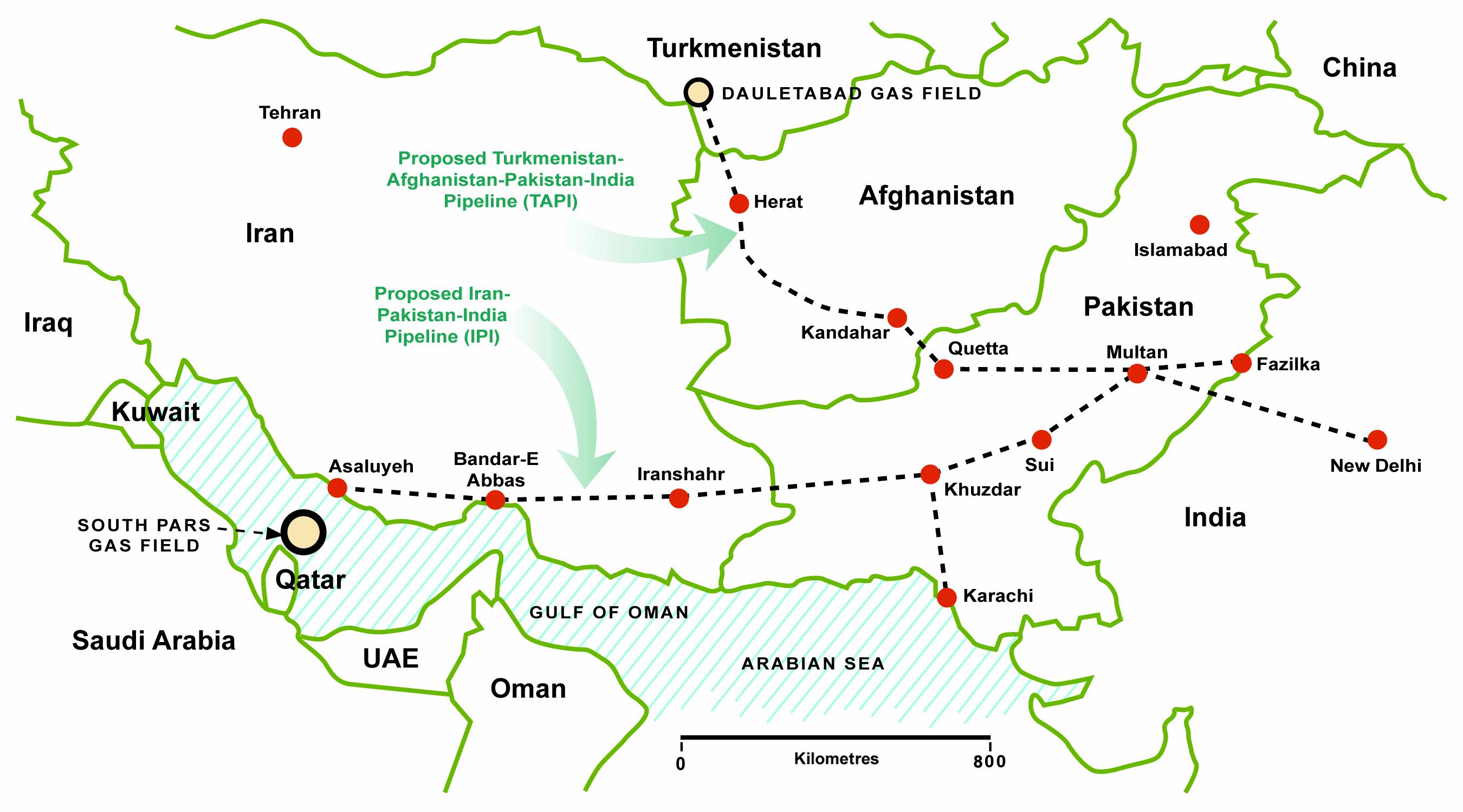 Российско-пакистанская рабочая группа обсуждала строительство газопровода ТАПИ